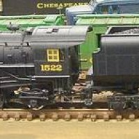 Bachmann 2-6-6-2 with vandy tender Chesapeake & Ohio