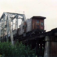 SP swing bridge