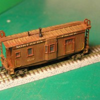 First rev NP Bay Window Caboose