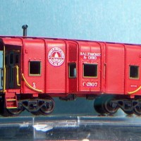 First look at B&O Caboose decal set.