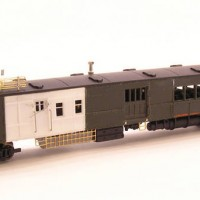 Northern Pacific Motor Car B-13 Unpainted