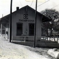 Thompsons TX ex-ATSF depot