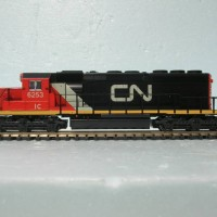 Canadian National SD40-2 ex IC