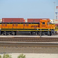 BNSF 3GS21B 1282, Alliance Yard, Haslet, TX 11-01-08