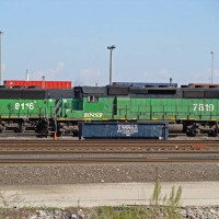 BNSF SD40-2 7819, Alliance Yard    11-01-2008