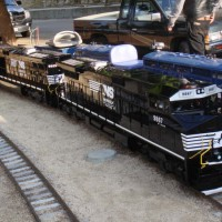 Norfolk Southern 9867 1/8th scale
