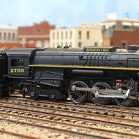 chesapeake & ohio ConCor 2-8-4