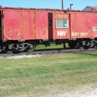 NW caboose #557530