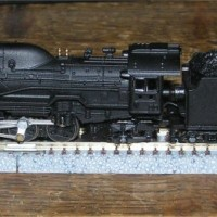 Z Scale Tenshodo D51 Streamlined Mikado