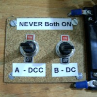 DPDT Power Switch Panel