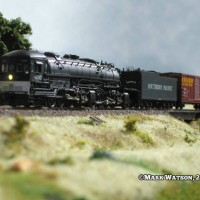 The InterMountain AC-12 Cab Forward Southern Pacific N Scale