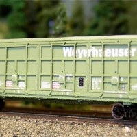 Z Scale Thrall All Door Boxcar