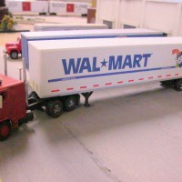 Walmart Trailer Custom Decals
