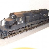 Kato SD40 Conrail / ex-PC Patch