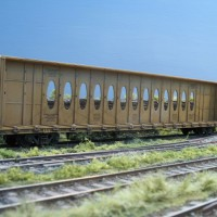 Walthers centrebeam flat car