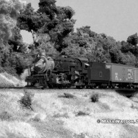 An old photograph of CB&Q 5508