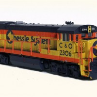 Atlas N scale Chessie U23B