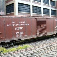 1940s 50ft boxcar