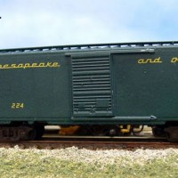 MT 40' boxcar C&O express car