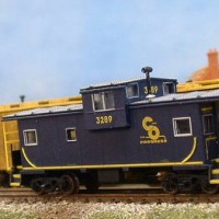 Customized Atlas caboose
