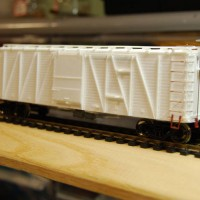 Virginian SS Box Car, F&C Kit, Ready for Painting