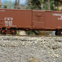 Atlas N scale boxcar