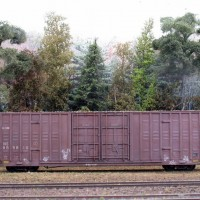 weathered freight cars - April 2011