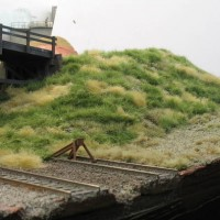 Adding grass and roadway to a scene
