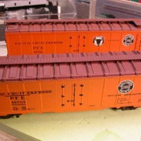 Model Power Reefer Reconstruction