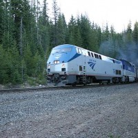 Amtrak train #11 at Tunnel 3