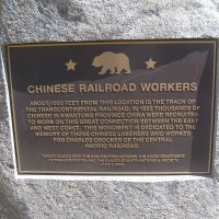 Chinese Railroad Worker's Monument