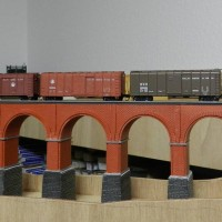 B&O Wagon Top Box Cars compared