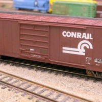 Roundhouse Shell for Conrail Boxcar