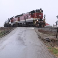 2011-11-21 Ind Eastern Fernald turn chase w SD9's