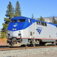 Amtrak 6 thru Verdi, NV