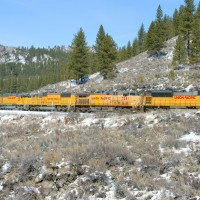 Power move, E/B from Truckee