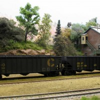 CSX coal hoppers