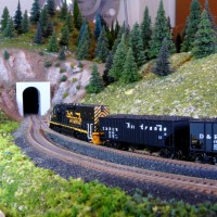 Coal loads ease thru Secret Places Sub