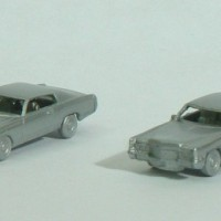 N Scale Monte Carlo and Cadillac