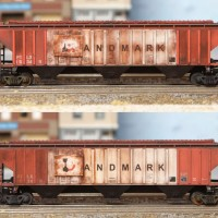 I/Mountain Landmark PS4750 Hopper - N Scale