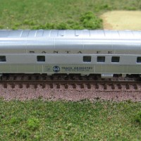 Modified Microtrains car