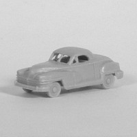 N Scale 1948 Chrysler Business Coupe