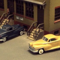 N Scale 1946-48 Chrysler Business Coupe