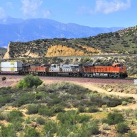 Railfanning in Cajon