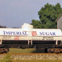 Imperial Sugar Tank Car