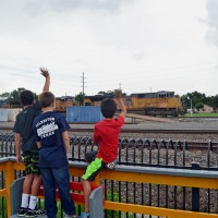 Young Rail Fans