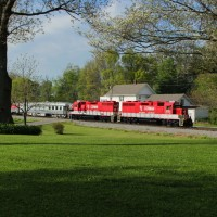 RJ Cormans derby train in Duckers, KY