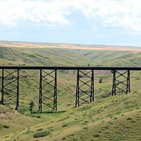 MILW Red Coulee Trestle