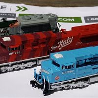 Z Scale SD70ACe Set