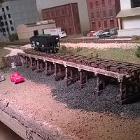 Frisco N Scale Shelf Layout